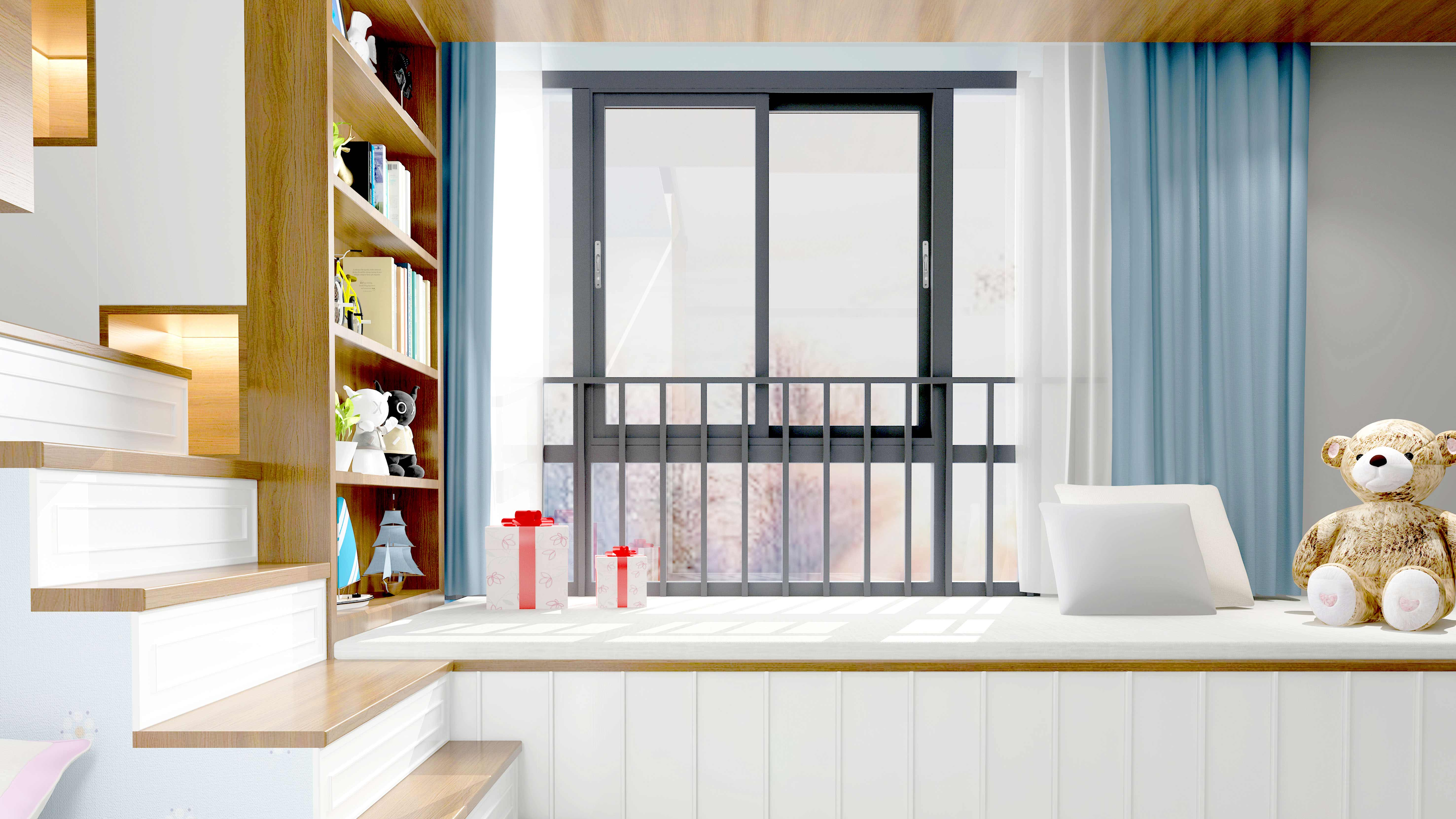 [Love+ Series ]  Acoustic sliding window